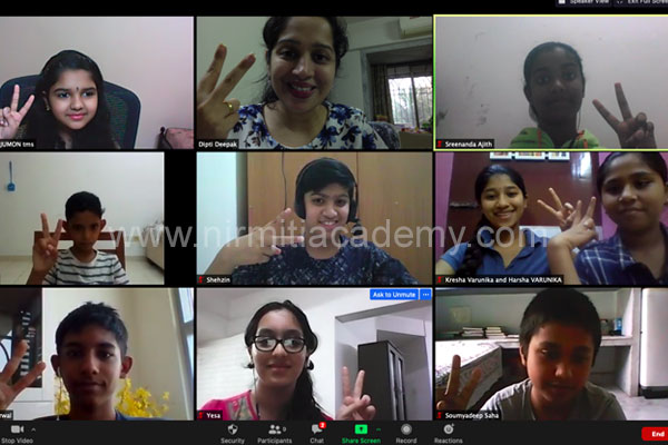 Online Public Speaking for Students – Batch 10 – India and Dubai - August 2020