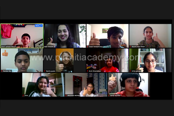 Online Public Speaking for Students – Batch 12 – Dubai, London, Switzerland, India - August 2020
