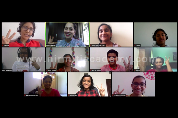 Online Public Speaking for Students – Batch 9 - India, Dubai and Switzerland - August 2020