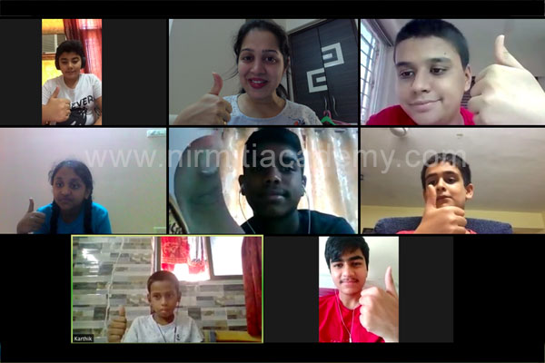 Online Spoken English - Students - Batch 4 - June'20